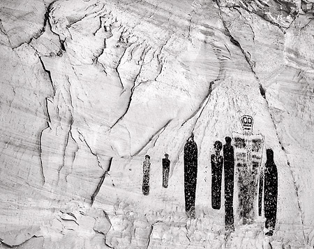 Great Gallery Pictographs, Canyonlands National Park, Utah