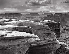 Monument Basin and Storm, Canyonlands National Park, Utah