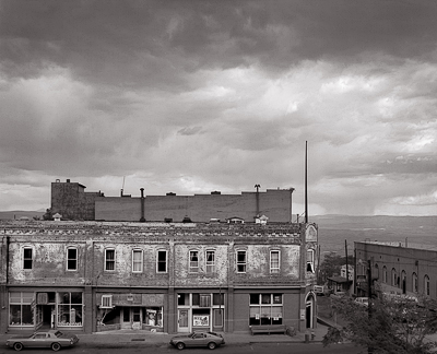 Storm Over Jerome ghost town Lynn Radeka